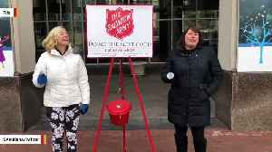 Someone Dropped Rare Gold Coin In Salvation Army Kettle [Video]