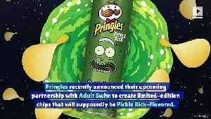 Pringles to Release 'Rick and Morty' Pickle Rick Chips [Video]