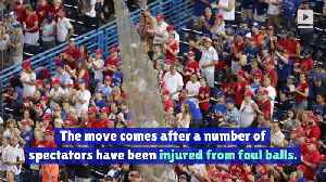 MLB Teams to Add More Safety Netting at Stadiums [Video]