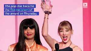 Taylor Swift Receives 'Billboard' Woman of the Decade Award [Video]