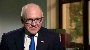 U.S. Ambassador Woody Johnson talks up speedy trade deal [Video]