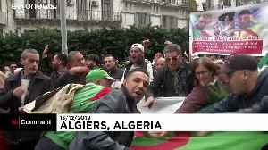 Algeria protesters say they reject 'fake' election results [Video]