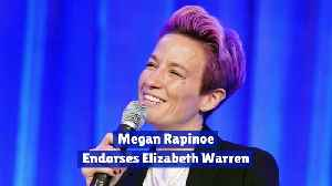 Megan Rapinoe Endorses Elizabeth Warren [Video]