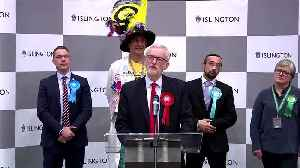 Corbyn says won't lead UK opposition into future election [Video]