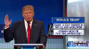 Donald Trump and Megyn Kelly infamous debate beef