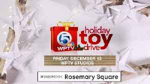 All-day toy drive Friday at WPTV! [Video]