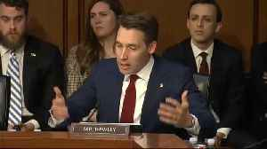 Josh Hawley: IG Report Shows 'Our Own Government Meddling In The Election' [Video]