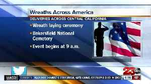 Plans for wreath deliveries in Central California [Video]