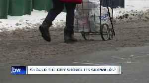 Should the City of Buffalo shovel its sidewalks? [Video]