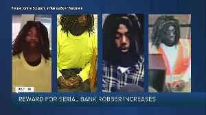 $50K reward offered for information on serial bank robber [Video]