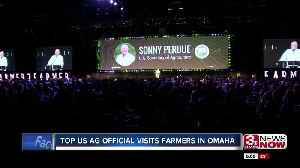 Top U.S. Ag Official Visits Farmers in Omaha [Video]