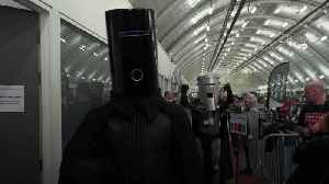 Count Binface and Lord Buckethead face off at Uxbridge count [Video]