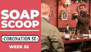 Coronation Street Soap Scoop! Christmas gun drama on the cobbles [Video]