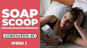 Coronation Street Soap Scoop! Tracy cheats on Steve [Video]