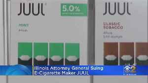 Illinois Attorney General Sues JUUL [Video]