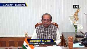 Assam Governor Jagdish Mukhi appeals people to maintain peace in state [Video]