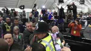 Fight breaks out at Uxbridge count as John McDonnell speaks [Video]