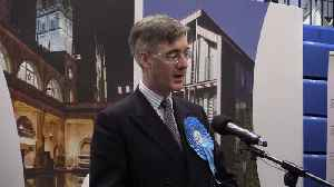 Jacob Rees-Mogg thanks Boris Johnson as he wins in North East Somerset