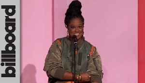 Rapsody Presents Megan Thee Stallion With Powerhouse Award | Women In Music 2019 [Video]