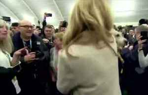 UK PM's dog in the limelight at his constituency win [Video]