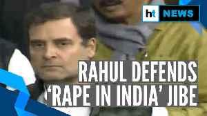 'Modi called Delhi rape capital': Rahul Gandhi defends 'Rape in India' remark [Video]