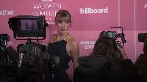 Taylor Swift attends Billboard's Women in Music event in Hollywood [Video]