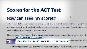 Three Williamsville North students receive perfect ACT score [Video]