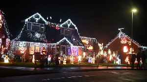 Entire Staffordshire village transformed into a glorious winter wonderland to raise thousands of pounds for charities this Chris [Video]