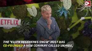 Ellen Degeneres launches faux fur brand [Video]
