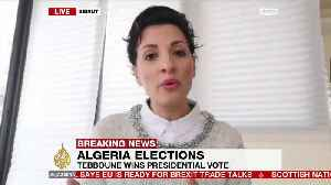 Ex-PM Tebboune elected Algeria's new president [Video]