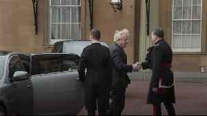 Boris Johnson meets the Queen