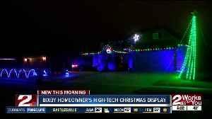 Bixby homeowner's high-tech christmas display [Video]
