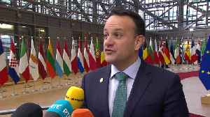 Leo Varadkar 'relieved' over Tory majority [Video]