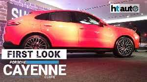 First Look: Porsche Cayenne Coupe [Video]
