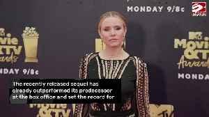 Kristen Bell knew Frozen II would be successful [Video]
