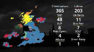 Election 2019: How the UK constituency map looks after Tory victory [Video]