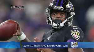 10 In A Row: Ravens Clinch AFC North [Video]