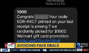 4th Scam of Christmas: Free gift cards + fake coupons [Video]
