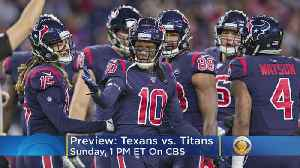 Texans And Titans Play For AFC South Lead [Video]