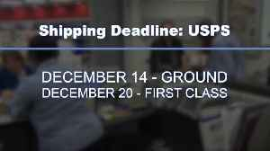 Mail your packages by these dates to make sure your presents are present [Video]