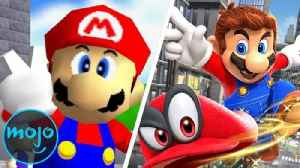 Top 10 Mario Games of All Time [Video]