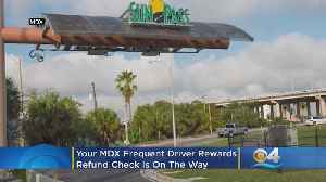 Your MDX Frequent Driver Rewards Refund Check Is On The Way [Video]