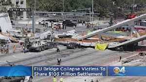 FIU Bridge Collapse Victims To Share $103 Million Settlement [Video]