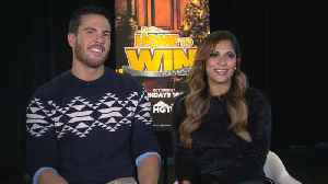 Cast Talks 'Home To Win: For The Holidays' [Video]