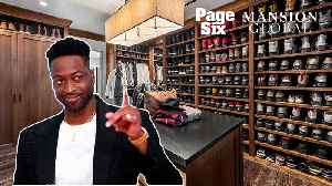 Dwyane Wade's $29M home has room for his massive shoe collection [Video]