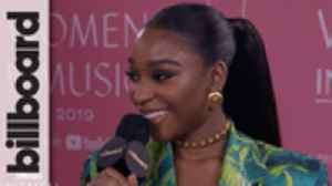 Normani Discusses What's Inspiring Her Debut Album & Reflects Upon Juice WRLD's Legacy | Women In Music 2019 [Video]