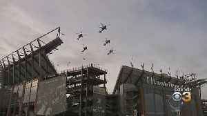 Philadelphia Native Leading Army Flyover Before Army-Navy Game At Lincoln Financial Field [Video]