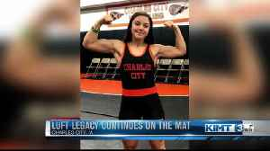 Luft legacy continues on the mat [Video]