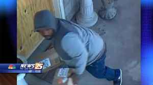 Wanted for grand larceny [Video]