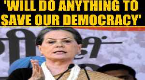 Sonia Gandhi slams Modi-Shah at Cong's 'Bharat Bachao' rally | OneIndia News [Video]